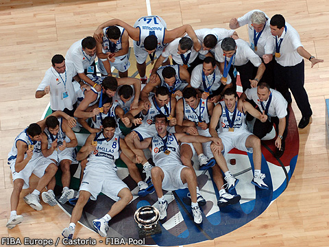 Greece - Eurobasket 2005 Winners